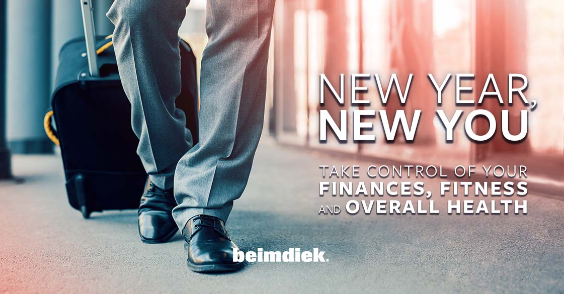 New Year, New You: Take Control of Your Finances, Fitness and Overall Health